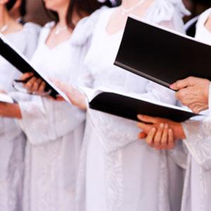 il coro impara a cantare